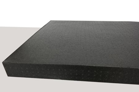 Block EPP 1000x800x80 100g/l black
