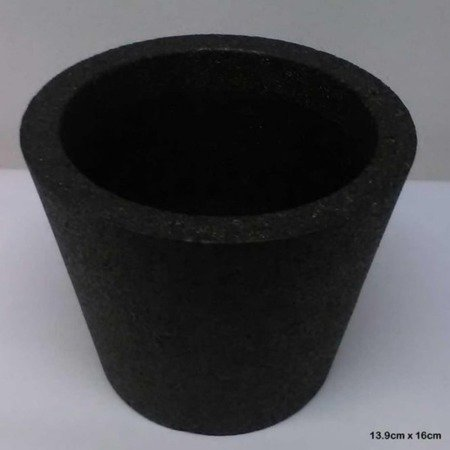 Flower pot IQBANA ISEO 160 black