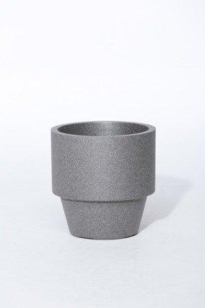 Flower pot IQBANA MONTREUX 380 black