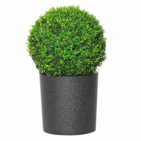 Flower pot IQBANA ROUND 480 black
