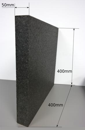 Block EPP 400/400/50 30g/l schwarz