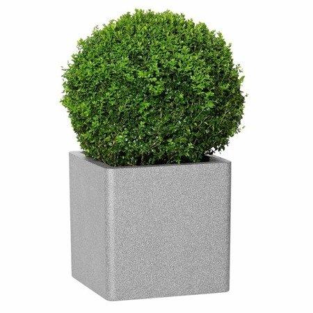 Blumentopf IQBANA SQUARE 480 Grau
